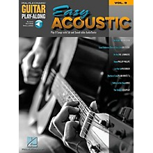 Hal Leonard Easy Acoustic Songs - Guitar Play-Along Vol. 9 Book/Online Audio