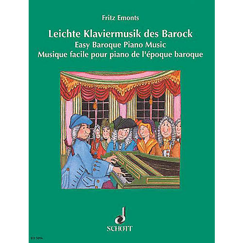 Schott Easy Baroque Piano Music Schott Series
