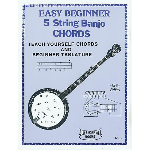 Morrell Music Easy Beginner Banjo Chords Book