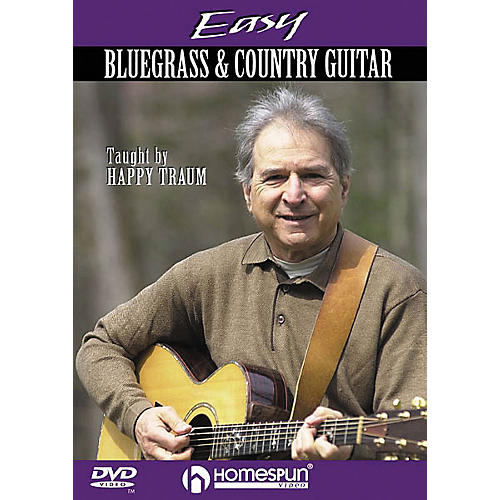 Homespun Easy Bluegrass and Country Guitar (DVD)