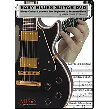 MJS Music Publications Easy Blues Guitar DVD: Blues Guitar Lessons for Beginner through Intermediate