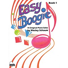 SCHAUM Easy Boogie Book 1 Educational Piano Series Softcover Composed by Wesley Schaum