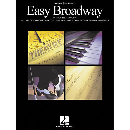 Hal Leonard Easy Broadway For Easy Piano 2nd Edition