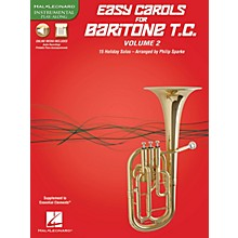 Hal Leonard Easy Carols for Baritone T.C. - Vol. 2 Instrumental Folio Series Softcover Media Online