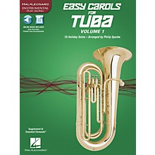 Hal Leonard Easy Carols for Tuba, Vol. 1 (15 Holiday Solos) Instrumental Folio Series Softcover Media Online