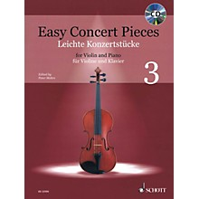 Schott Easy Concert Pieces - Volume 3 (16 Famous Pieces from 4 Centuries)  Violin and Piano Book/CD