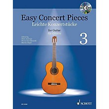 Schott Easy Concert Pieces for Guitar, Volume 3 Guitar Series Softcover with CD