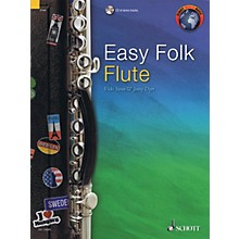 Schott Easy Folk Flute (51 Pieces) Woodwind Solo Series Softcover with CD
