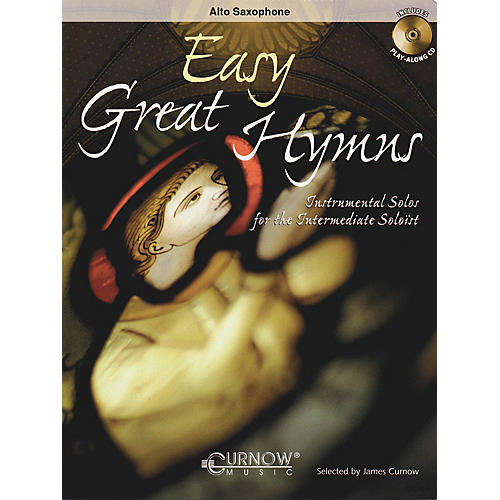 Curnow Music Easy Great Hymns (Alto Saxophone - Grade 2) Concert Band Level 2