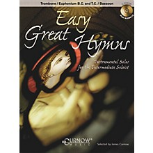 Curnow Music Easy Great Hymns (Trombone/Euphonium (BC or TC)/Bassoon - Grade 2) Concert Band Level 2