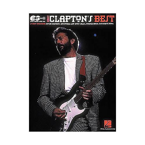 Hal Leonard Easy Guitar - Best of Eric Clapton Book