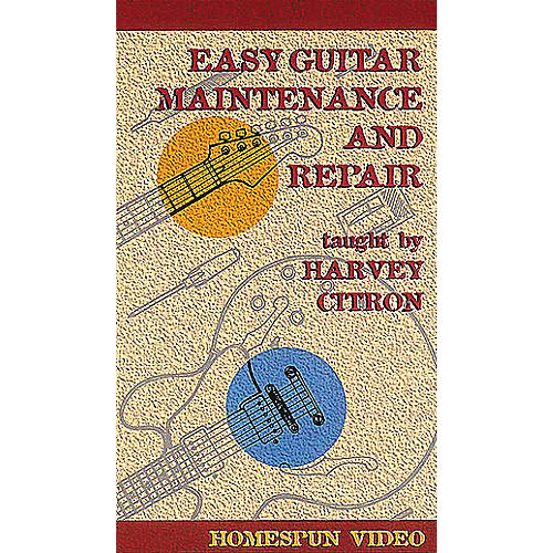 Hal Leonard Easy Guitar Maintenance and Repair Video