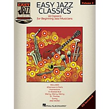 Hal Leonard Easy Jazz Classics - Easy Jazz Play-Along Vol. 3 Book/CD