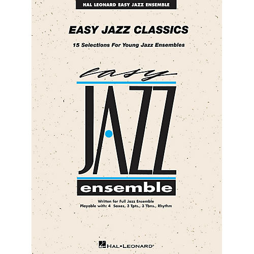 Hal Leonard Easy Jazz Classics - Tenor Sax 1 Jazz Band Level 2