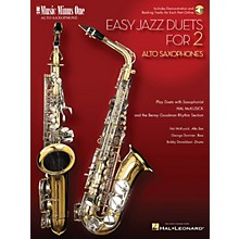 Music Minus One Easy Jazz Duets for 2 Alto Saxophones and Rhythm Section Music Minus One Series Book with CD