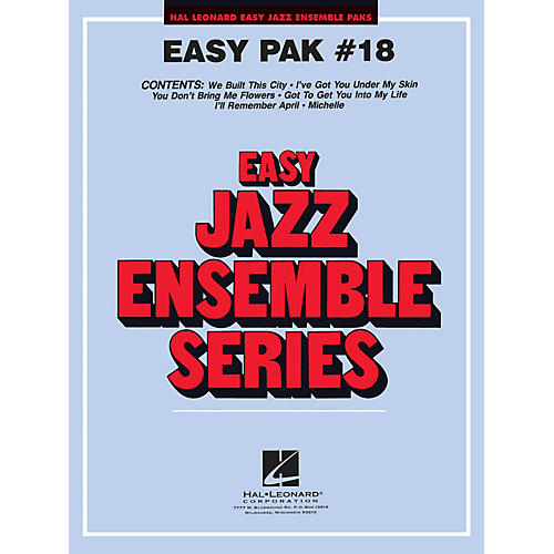 Hal Leonard Easy Jazz Ensemble Pak 18 Jazz Band Level 2 Arranged by Jerry Nowak