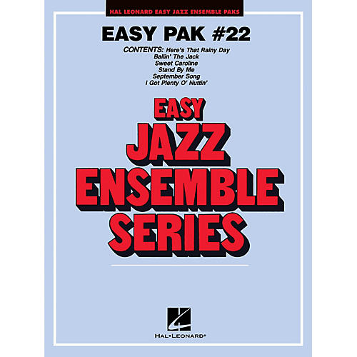 Hal Leonard Easy Jazz Ensemble Pak 22 Jazz Band Level 2 Arranged by Jerry Nowak