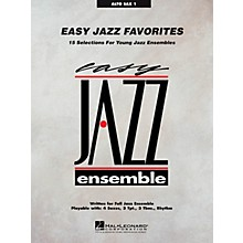 Hal Leonard Easy Jazz Favorites - Alto Sax 1 Jazz Band Level 2 Composed by Various