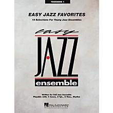 Hal Leonard Easy Jazz Favorites - Trombone 1 Jazz Band Level 2 Composed by Various