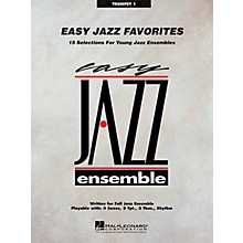 Hal Leonard Easy Jazz Favorites - Trumpet 1 Jazz Band Level 2 Composed by Various