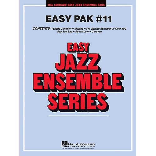 Hal Leonard Easy Jazz Pak 11 CD Jazz Band
