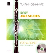 Carl Fischer Easy Jazz Studies For Clarinet Book