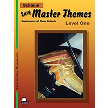 SCHAUM Easy Master Themes, Lev 1 Educational Piano Series Softcover
