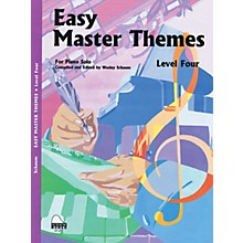 SCHAUM Easy Master Themes, Lev 4 Educational Piano Series Softcover