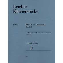 G. Henle Verlag Easy Piano Pieces - Classic and Romantic Eras - Volume 2 Henle Music Folios Series Softcover