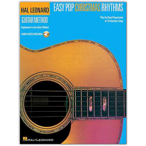 Hal Leonard Easy Pop Christmas Rhythms (Supplement to Any Guitar Method) Book/Audio Online