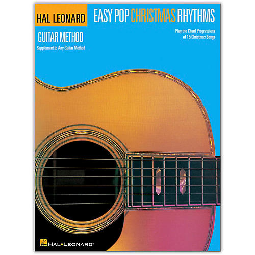 Hal Leonard Easy Pop Christmas Rhythms (Supplement to Any Guitar Method) Songbook