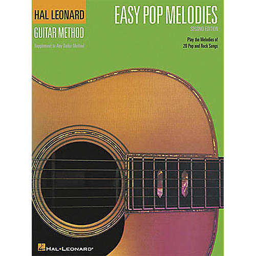 Hal Leonard Easy Pop Melodies - 2nd Edition Guitar Chord Songbook