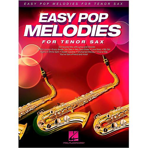 Hal Leonard Easy Pop Melodies For Tenor Sax