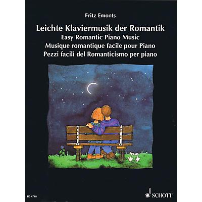 Schott Easy Romantic Piano Music - Volume 1 (New Edition) Schott Series Softcover