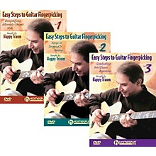 Homespun Easy Steps To Guitar Fingerpicking 1,2&3 (DVD)