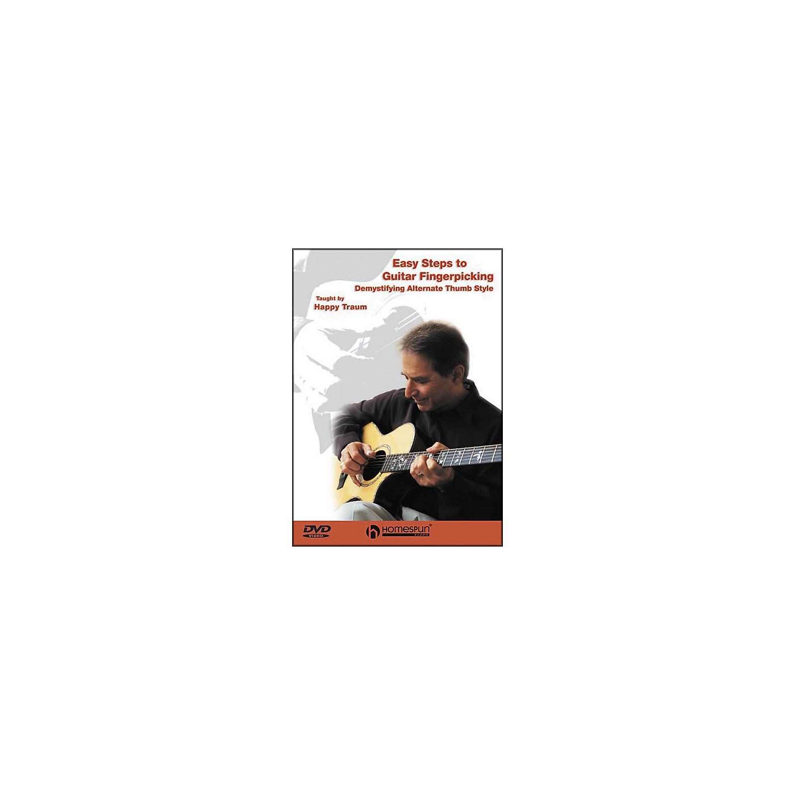 Homespun Easy Steps to Guitar Fingerpicking 1 (DVD)
