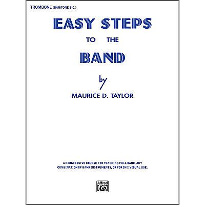 Alfred Easy Steps to the Band Trombone & Baritone B.C.
