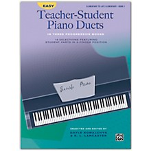 Alfred Easy Teacher-Student Piano Duets in Three Progressive Books, Book 2 Elementary / Late Elementary