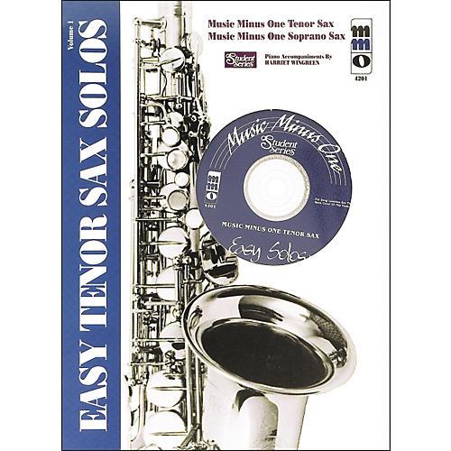Hal Leonard Easy Tenor Saxophone Solos: Student Edition Vol 1