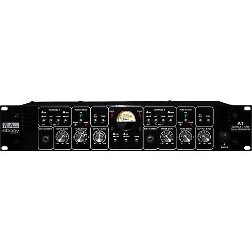 TL Audio Ebony A1 Discrete Class A and Tube Dual Preamp/DI