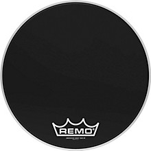 Ebony Ambassador Crimplock Bass Drum Head 18 in.