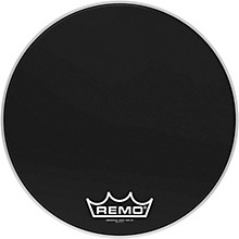 Ebony Ambassador Crimplock Bass Drum Head 20 in.