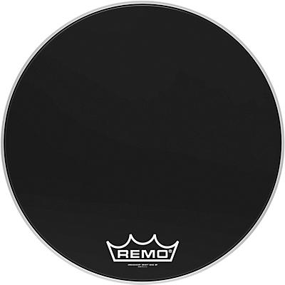 Remo Ebony Ambassador Crimplock Bass Drum Head