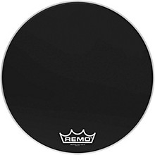 Remo Ebony Ambassador Crimplock Bass Drum Head