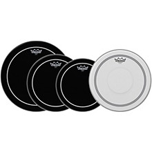 Open BoxRemo Ebony Pinstripe Standard Pro Pack with Free 14 in. Coated Pinstripe Snare Drum Head