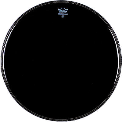 Remo Ebony Powerstroke 3 Resonant Bass Drum Head