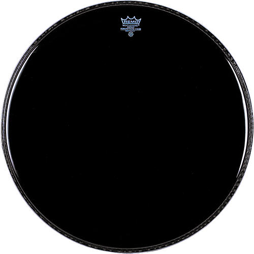 remo ebony powerstroke 3 resonant bass drum head musician 39 s friend. Black Bedroom Furniture Sets. Home Design Ideas
