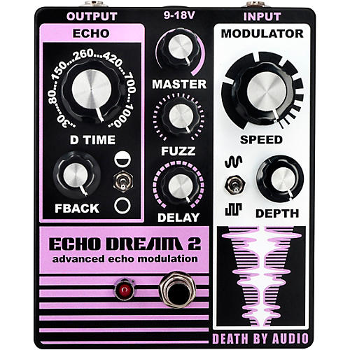 Death By Audio Echo Dream 2 Delay Effects Pedal Condition 1 - Mint Purple