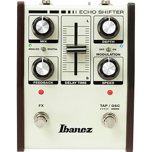 Ibanez Echo Shifter Hybrid Delay with Modulation Guitar Effects Pedal