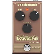 Open Box TC Electronic Echobrain Analog Delay Effect Pedal
